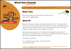 Mixed Nuts Comedy screenshot