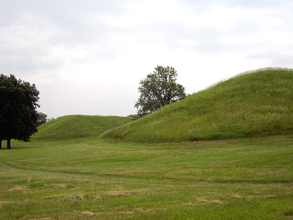Twin Mounds at Cahokia