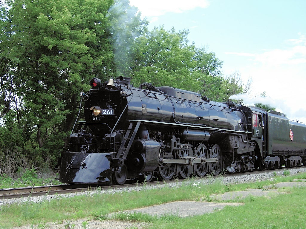 Milwaukee Road Engine 261