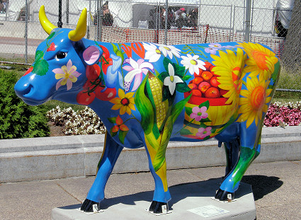Farmer's Market Cow