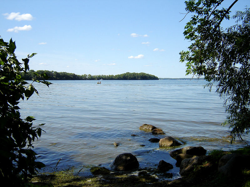Picnic Point on Lake Mendota