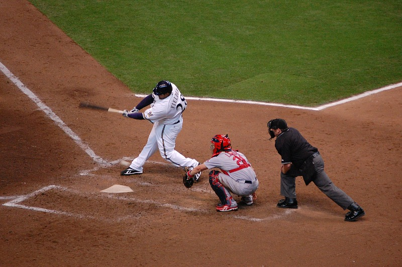 Prince Fielder swinging away