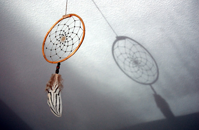 dreamcatcher and shadow
