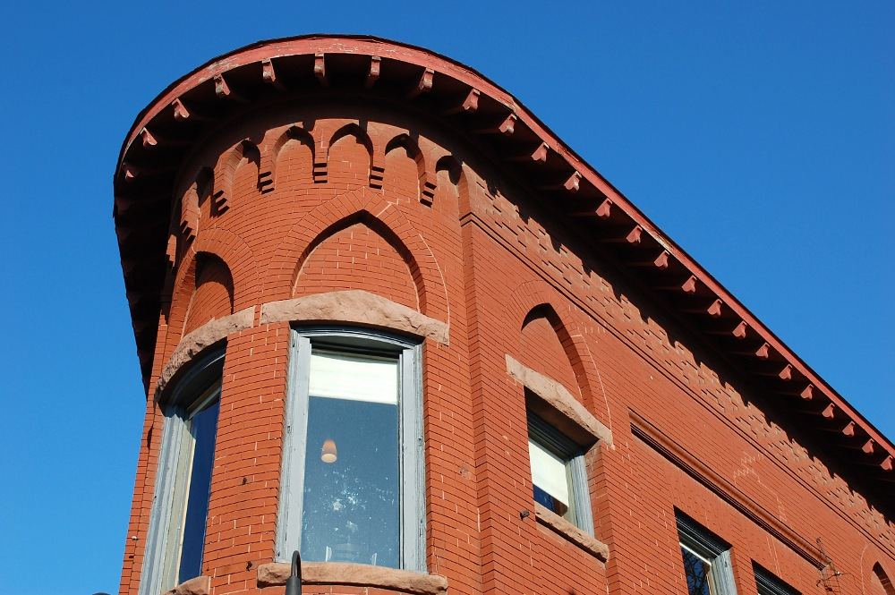 decorative building top
