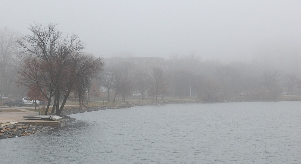 Foggy Monona Bay