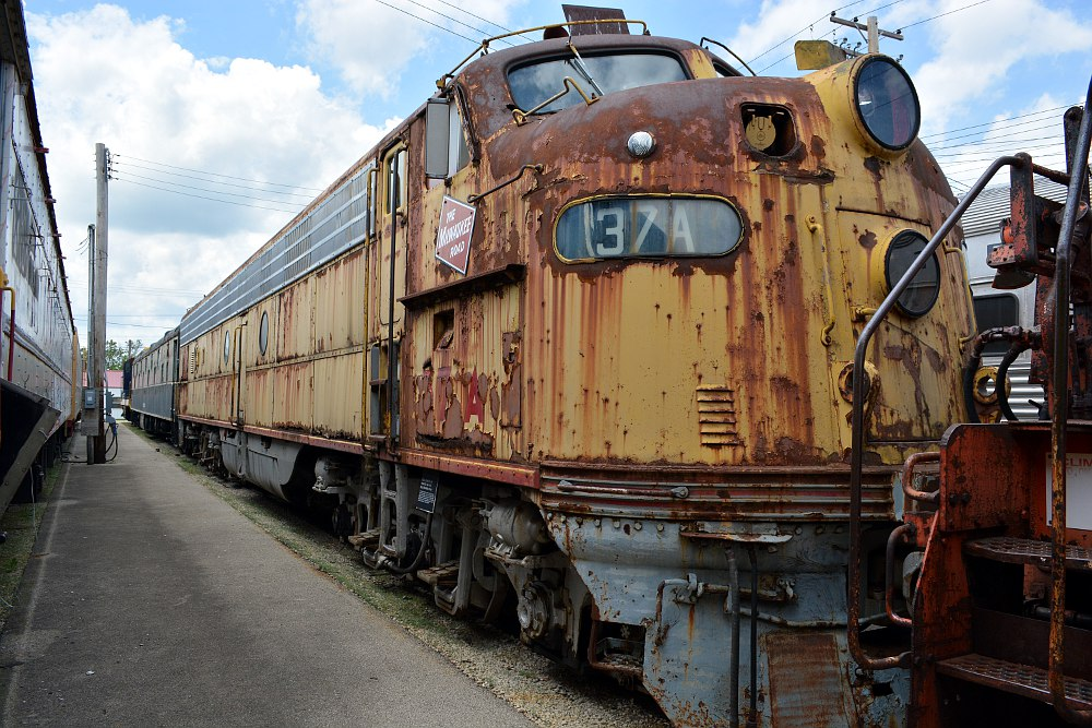 Milwaukee Road E9 Diesel Locomotive