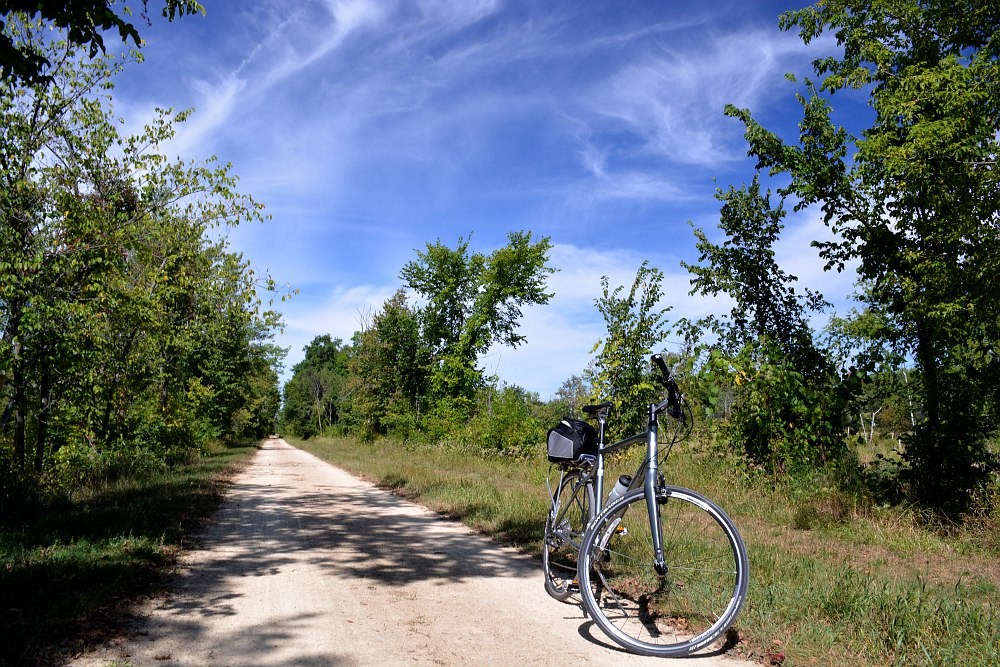 bicycle on the 400 State Trail