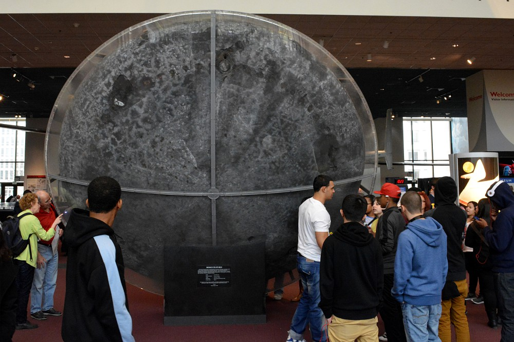 Heat shield of Apollo 11 command module