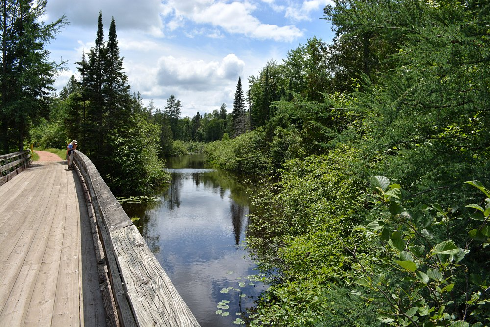 Tamarack Trestle over the Bearskin Creek