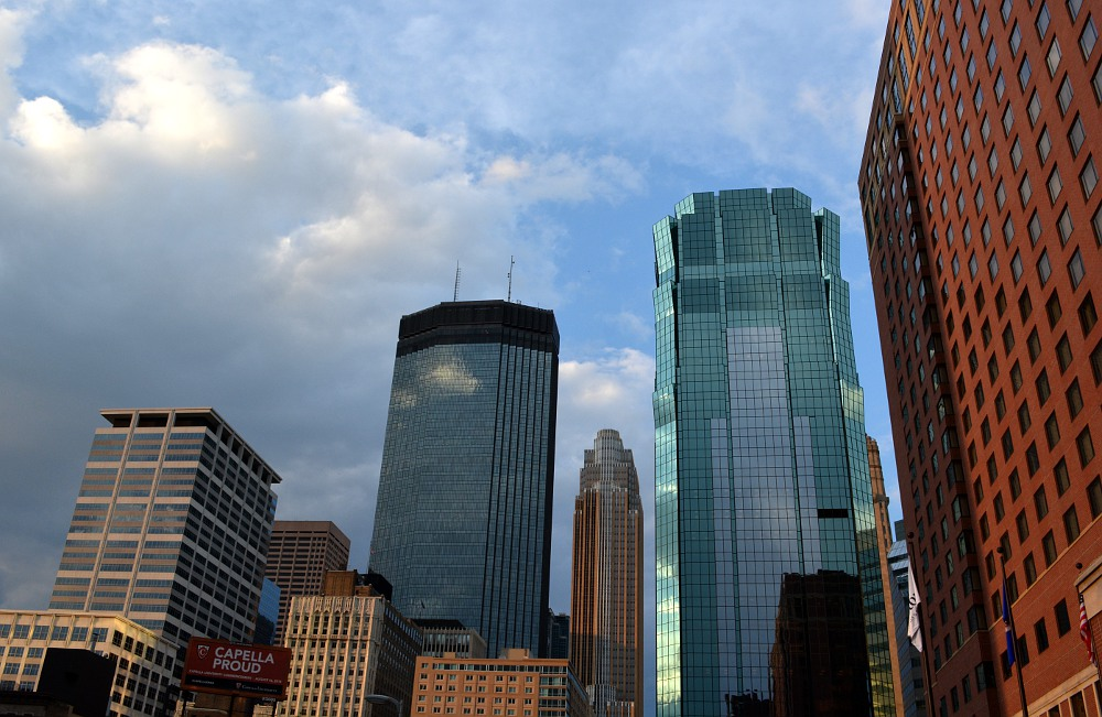 Skyline in downtown Minneapolis