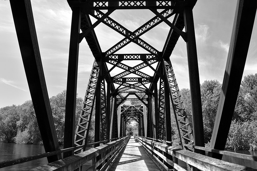 Trestle on the Great River State Trail