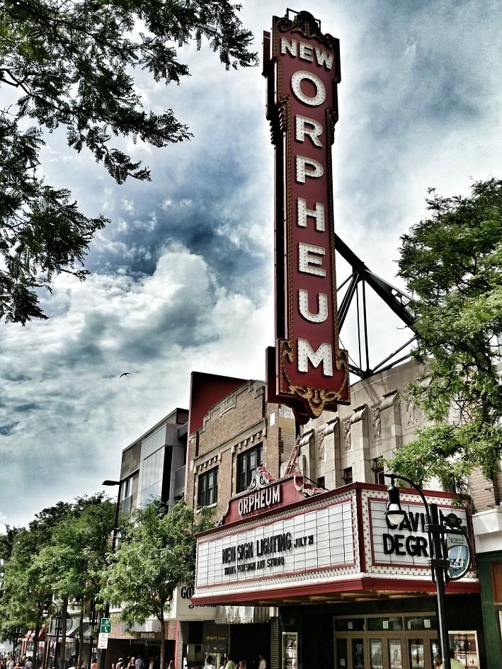 Orpheum Theater sign