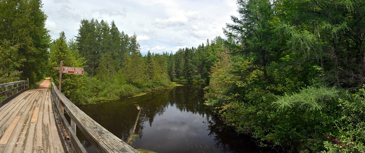 Tamarack Trestle on the Bearskin State Trail