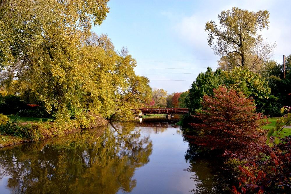 Autumn scene on the Starkrweather Creek
