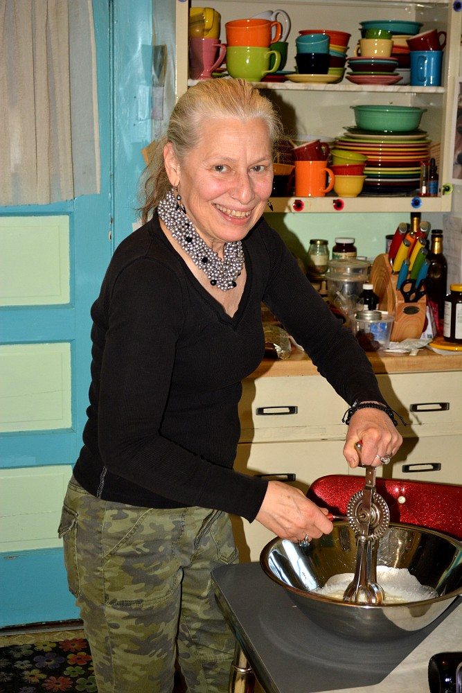 Barbra Bloy cooking